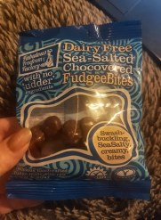 Fabulous Freefrom Factory Dairy Free Sea-Salted Chocolate Fudge Bites