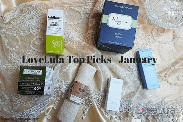 LoveLula Top Picks - January - Green Beauty