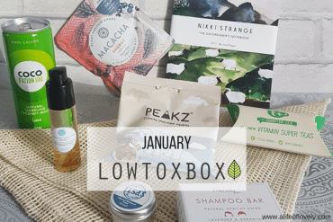 January LowToxBox - What's In The Box