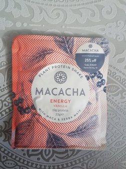Macacha - Plant Protein Energy Vanilla
