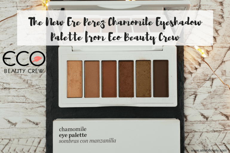 The New Ere Perez Chamomile Eyeshadow Palette from Eco Beauty Crew
