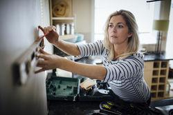 woman DIY