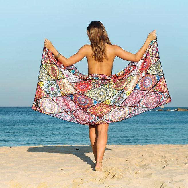 teaslate beach towel