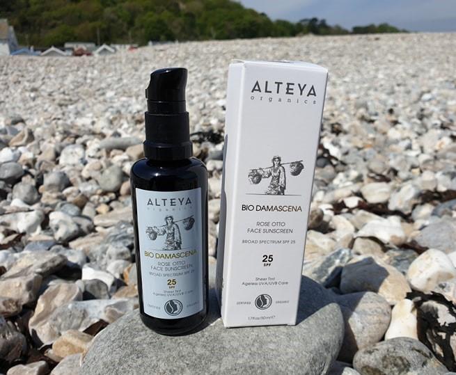 Alteya Certified Organic Rose Otto Face Sunscreen SPF25 50ml