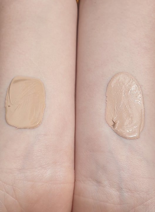 Madara Tinting Fluid and CC Cream swatches