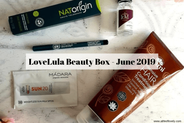 LoveLula Beauty Box - June 2019