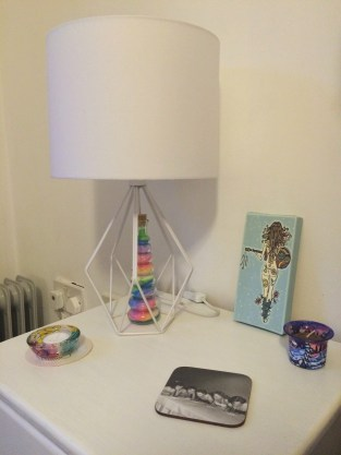 Moving house stress-free - bedside table
