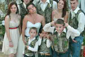 Country Wedding; A Beautiful Joining of Families, Farm-style Happiness