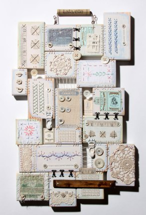 Textile art by Ali Ferguson