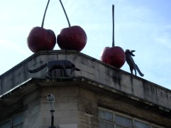 in brixton above the street market. never noticed it before.
