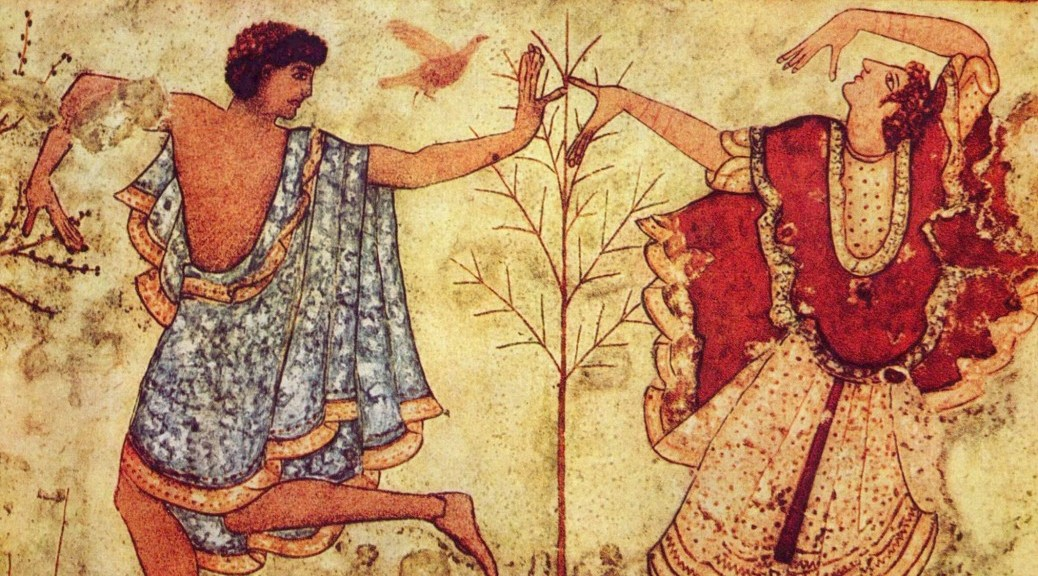 Etruscans with tree