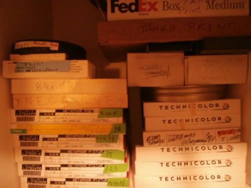 The top shelf of my linen closet.