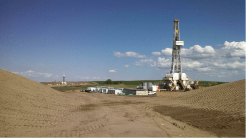 Rig 21, one of several rigs I worked on in North Dakota (2013).