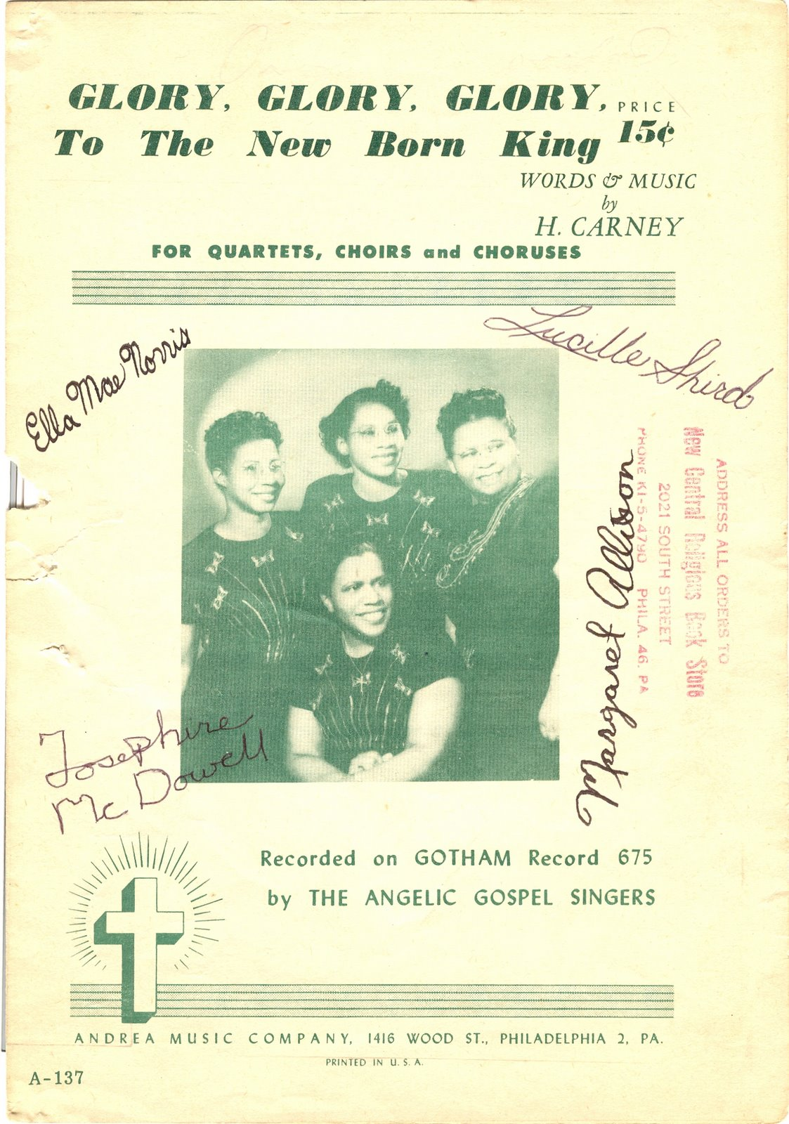 gospel music – A Lifes Work