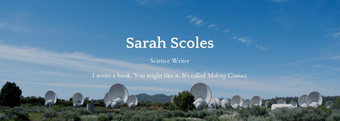 Sarah Scoles, Science Writer