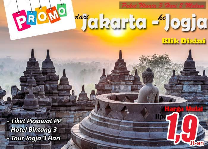 Promo Paket Wisata Dari Jakarta Ke Jogja Alif Tour