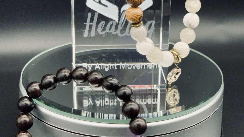 I Make Reiki Infused Crystal Bracelets