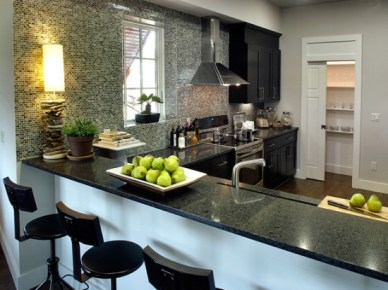 Caesar Stone Quartz Kitchen by Female Ways, HGTV