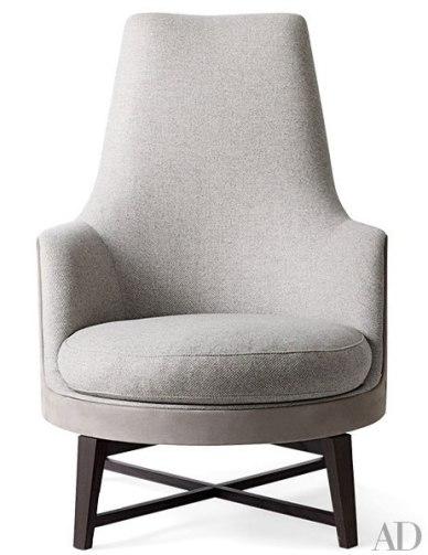 Flexforms Guscioalto Soft Armchair by Entonio Citterio