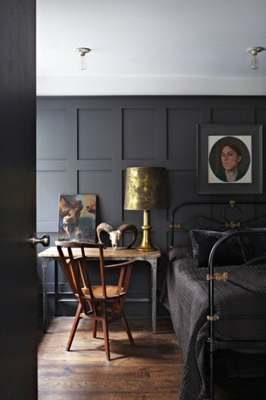 Bedroom by Farrow & Ball