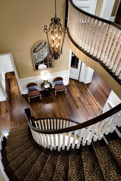 "7"" Hand Scraped Engineered Oak Hardwood Floors by Jane Lockhart"