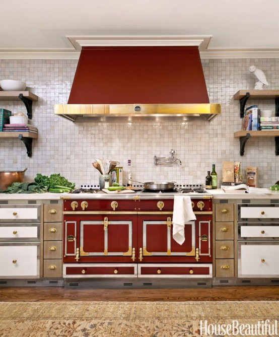 Color of the Year 2015~Pantone Marsala, House Beautiful