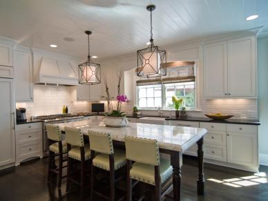 Pendant Kitchen Lighting Designed by Carolina Design Associates