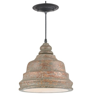 Lulworth Pendant by Currey & Co.