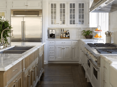 East Hampton Gourmet Kitchen by Phoebe Howard