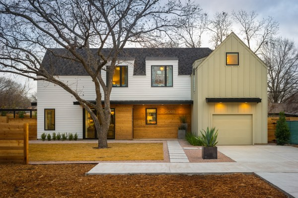 Front Yard of HGTV Smart Home 2015 in Austin, Texas