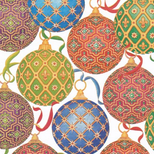 Imperial Ornaments Gift Wrap by Casperi