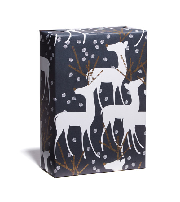 Reindeer Gift Wrap by Snow & Graham, AD