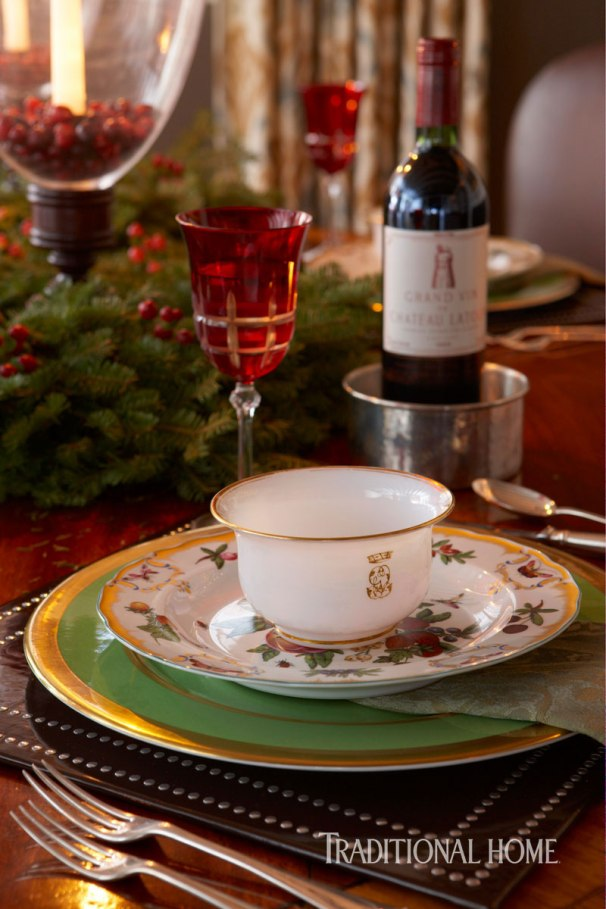 Classic Holiday Table with Vintage Furnishings, John Cialone