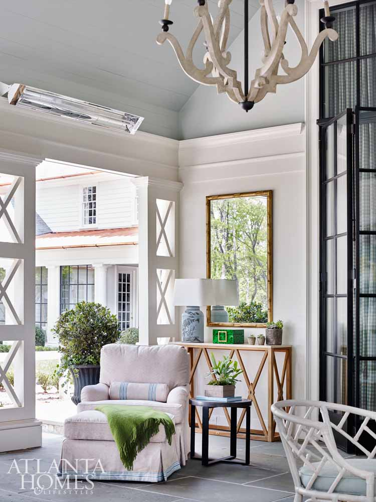 outdoor living, decorator showhouse trends