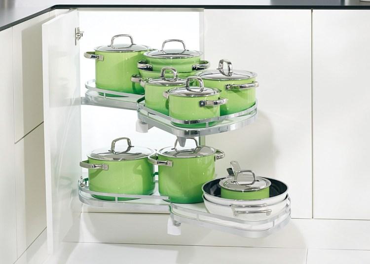 kitchen trends 2018, cabinet storage systems