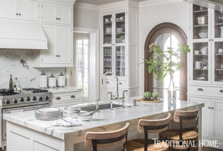 kitchen trends 2021, white kitchens