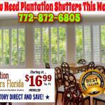 Florida S Style Poly Wood Plantation Shutters Window