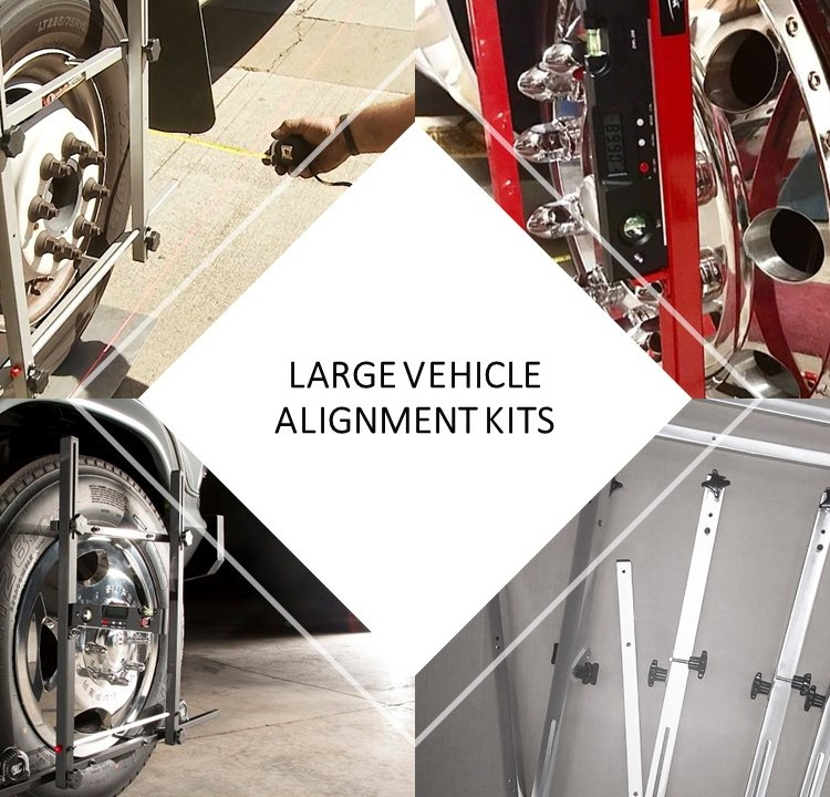 LARGER VEHICLE ALIGNMENT SYSTEMS