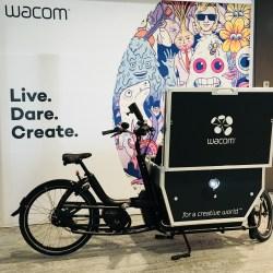 2018 #StartUpWoche - Wacom Bicycle - Live Dare Create