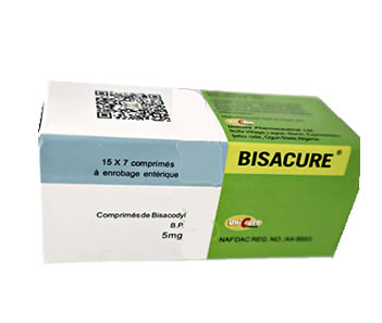 Bisacure 5mg — Aligs Pharmacy & Stores