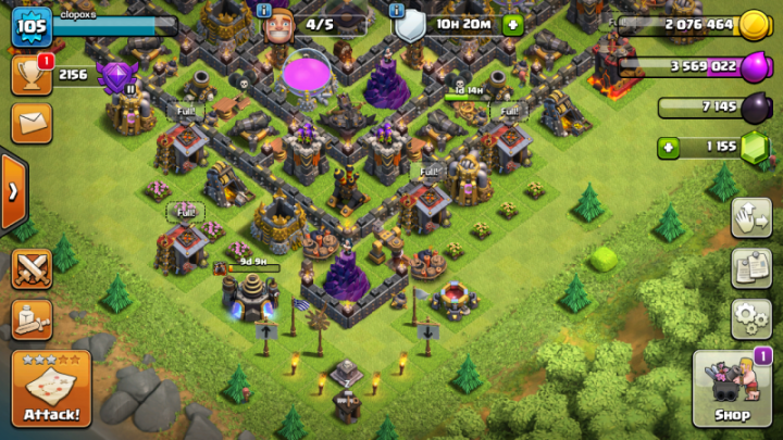 cara maen game clash of clans
