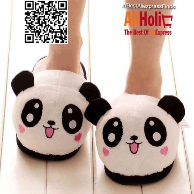 Fat panda slippers Aliexpress