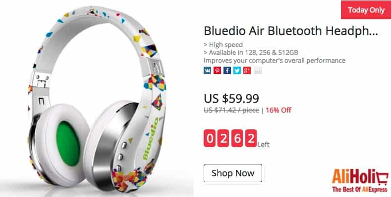 bluedio air sale