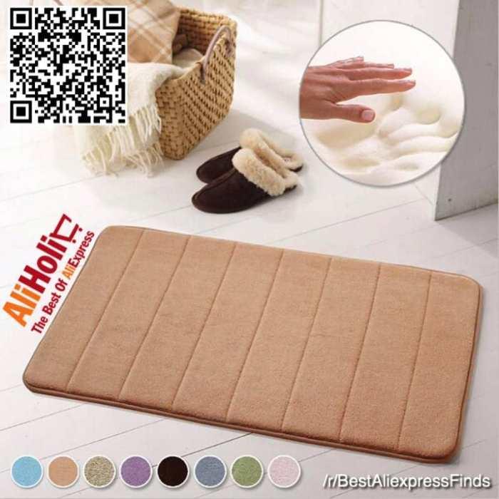 Bathroom rug memory foam Aliexpress