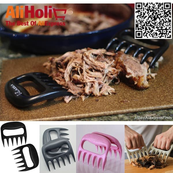 Bear paws for shredding meat AliExpress