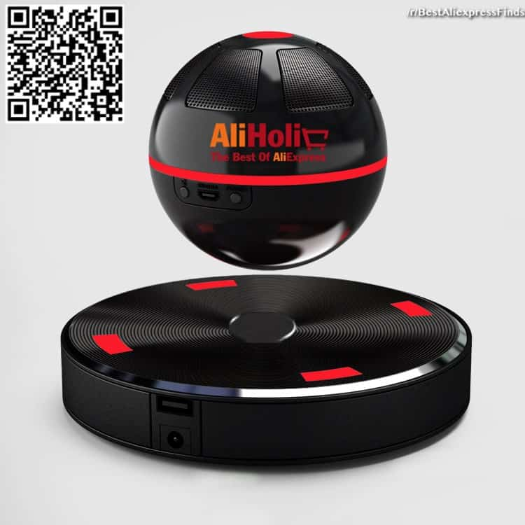 Magnetic levitating speaker Aliexpress