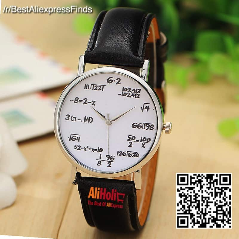 Mathematicians watch AliExpress