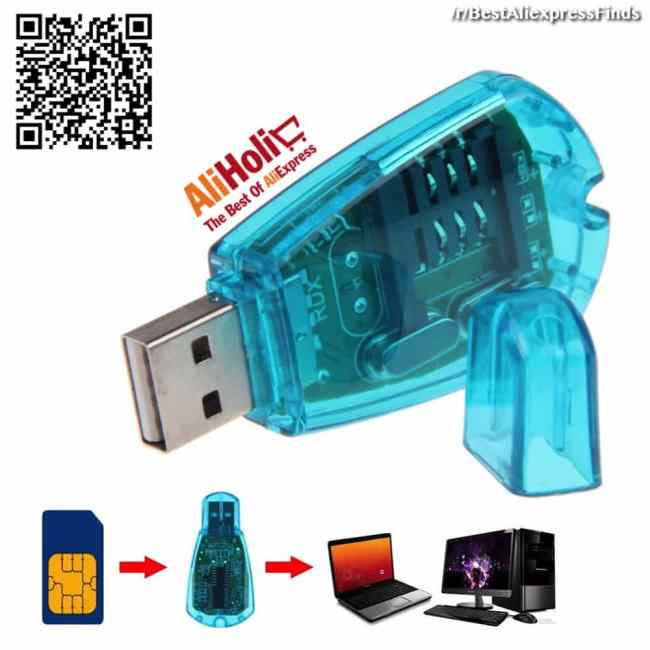 USB SIM card reader Aliexpress