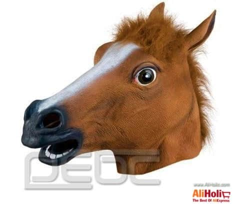 Horse head mask AliExpress