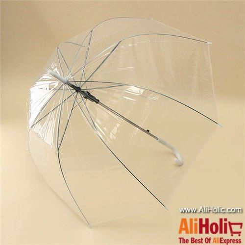 Transparent umbrella AliExpress